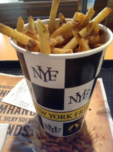 Jumbo Cup of fries