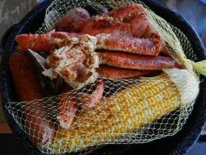 Bucket of Seafood at Joe's Crab Shack