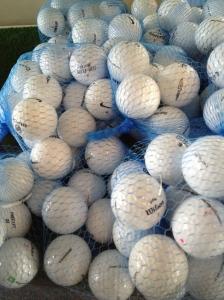 Mesh of Golf Balls