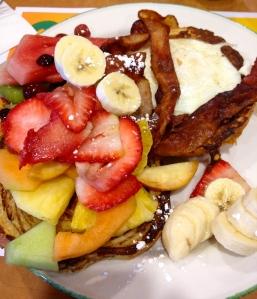 Fruity Breakfast at Cora's