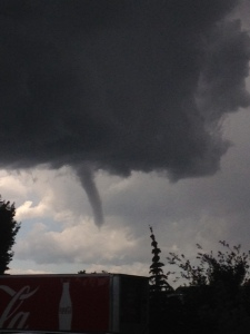 Funnel Cloud over Calgary